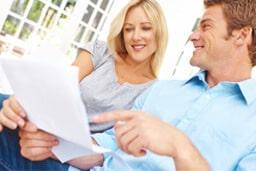 Happy Couple Loan Approval